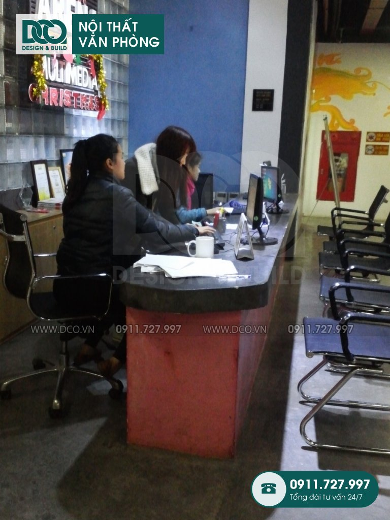 Bản vẽ mẫu nội thất văn phòng Arena Multimedia