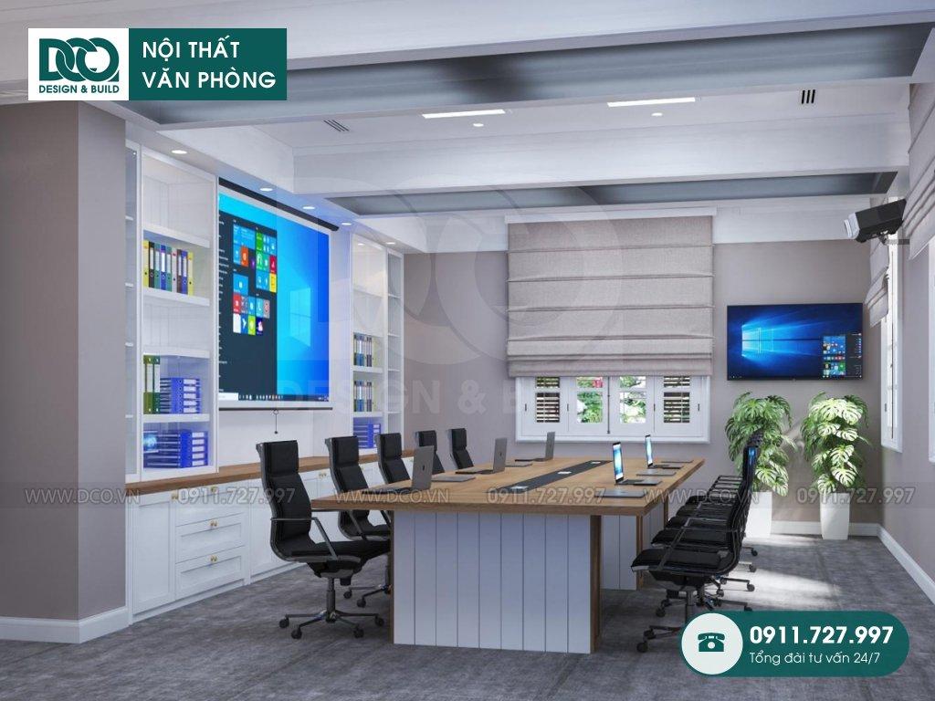 Dự án thiết kế văn phòng 40m2 nhỏ gọn hiện đại tại phường Điện Biên