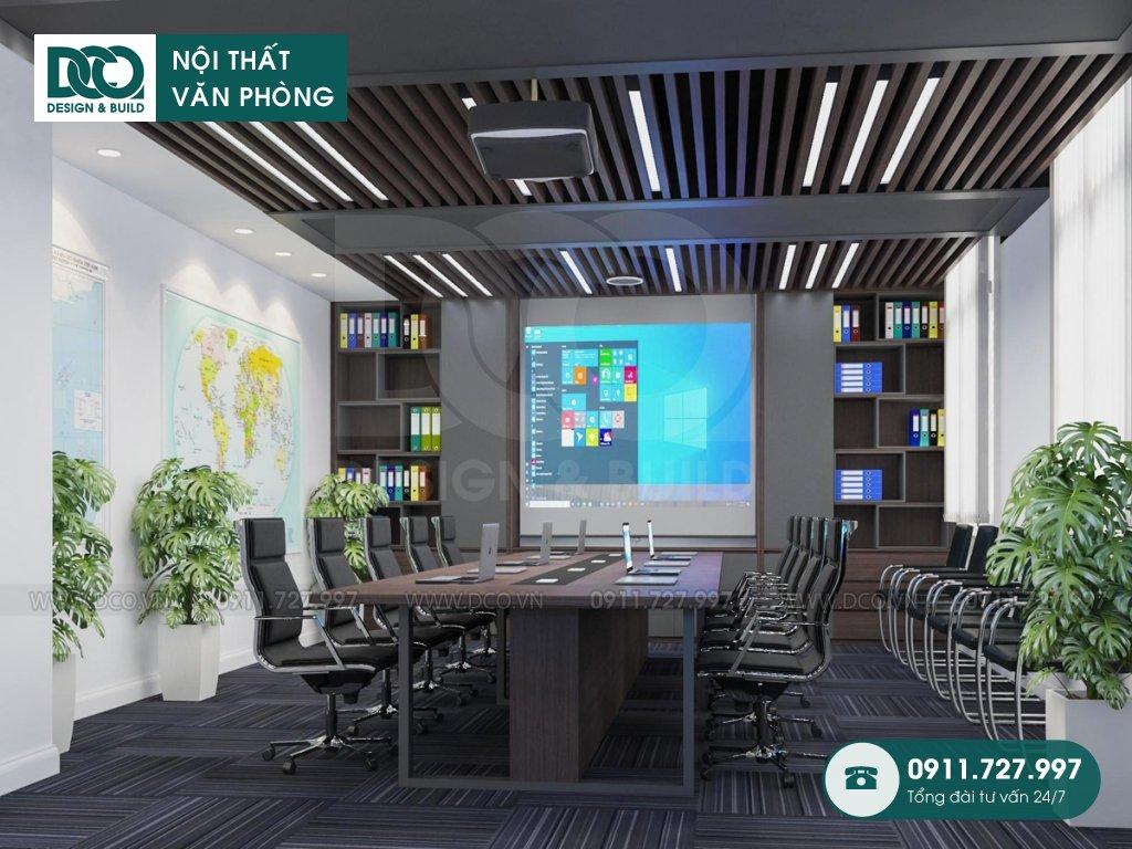 Hồ sơ mẫu nội thất văn phòng 50m2 Đại sứ quán Singapore
