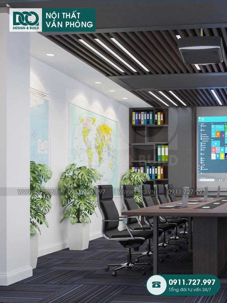 Bản vẽ mẫu nội thất văn phòng Đại sứ quán Singapore