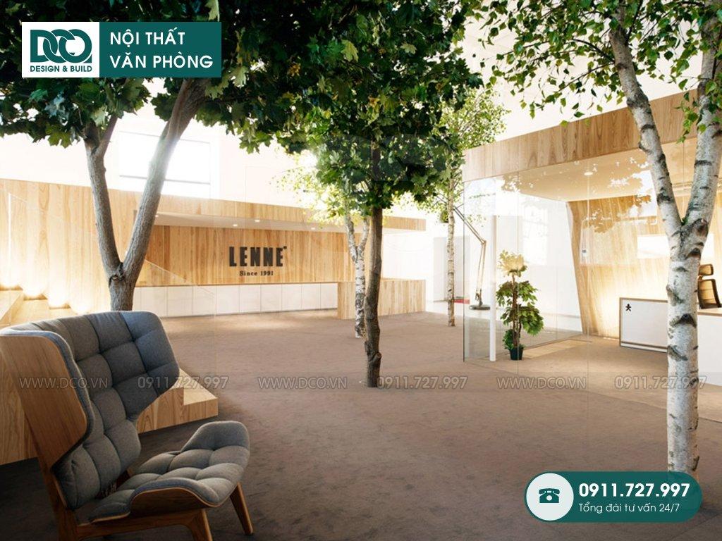 Hồ sơ dự án thiết kế nội thất văn phòng THE GOLDEN PALM