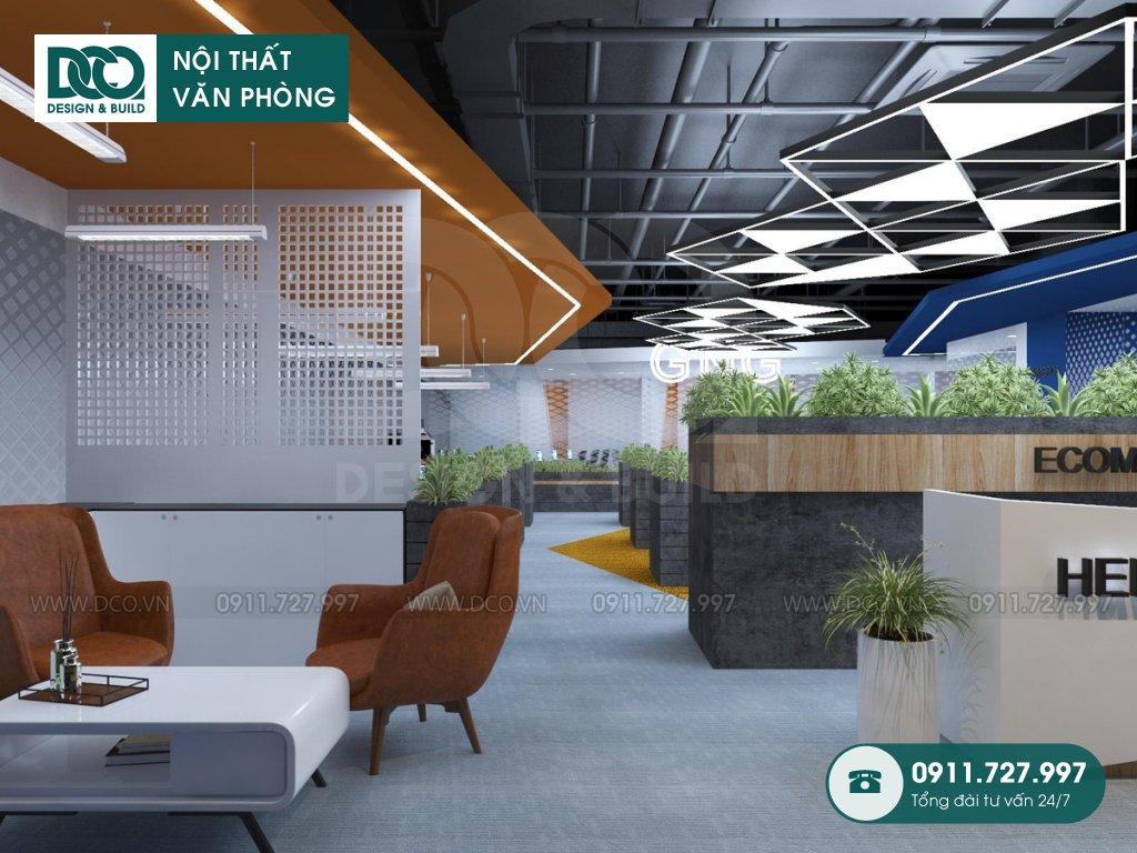 Bản vẽ mẫu nội thất văn phòng khu 1 số 6 Nguyễn Hoàng
