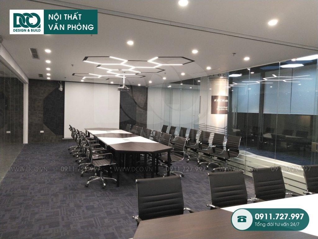 Hồ sơ dự án thiết kế nội thất văn phòng GOLDEN NET