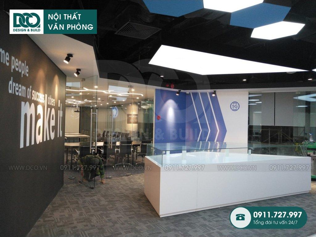 Hồ sơ bản vẽ mẫu nội thất văn phòng GOLDEN NET