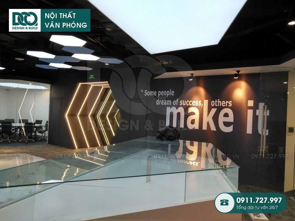 Bản vẽ mẫu nội thất văn phòng GOLDEN NET