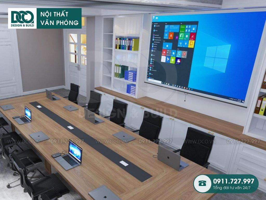 Hồ sơ dự án thiết kế nội thất văn phòng tại số 43 Trần Phú