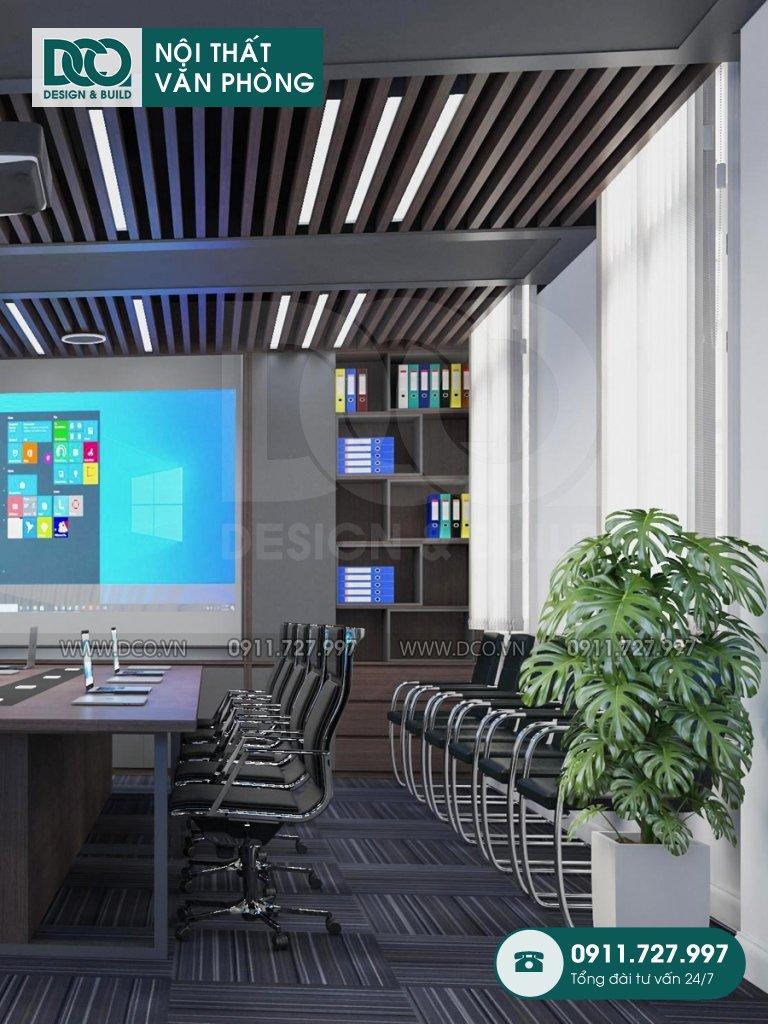 Bản vẽ mẫu nội thất văn phòng tại số 43 Trần Phú