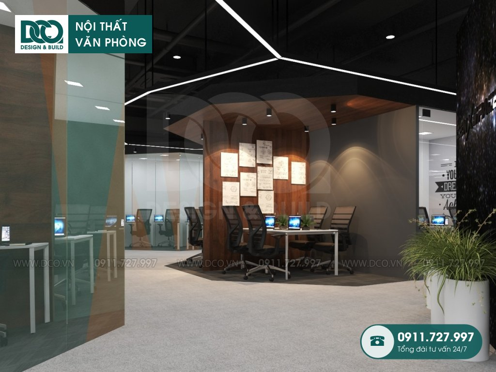 Thi công nội thất Coworking Space CEN X SPACE 2