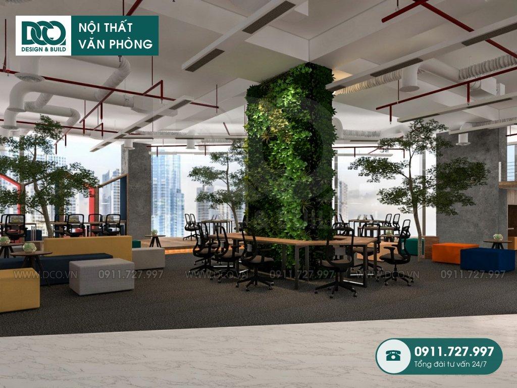 Thi công nội thất Coworking Space tại TP. HCM