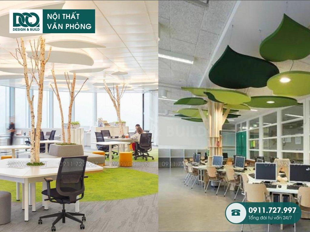 Nội thất Coworking Space sau thi công