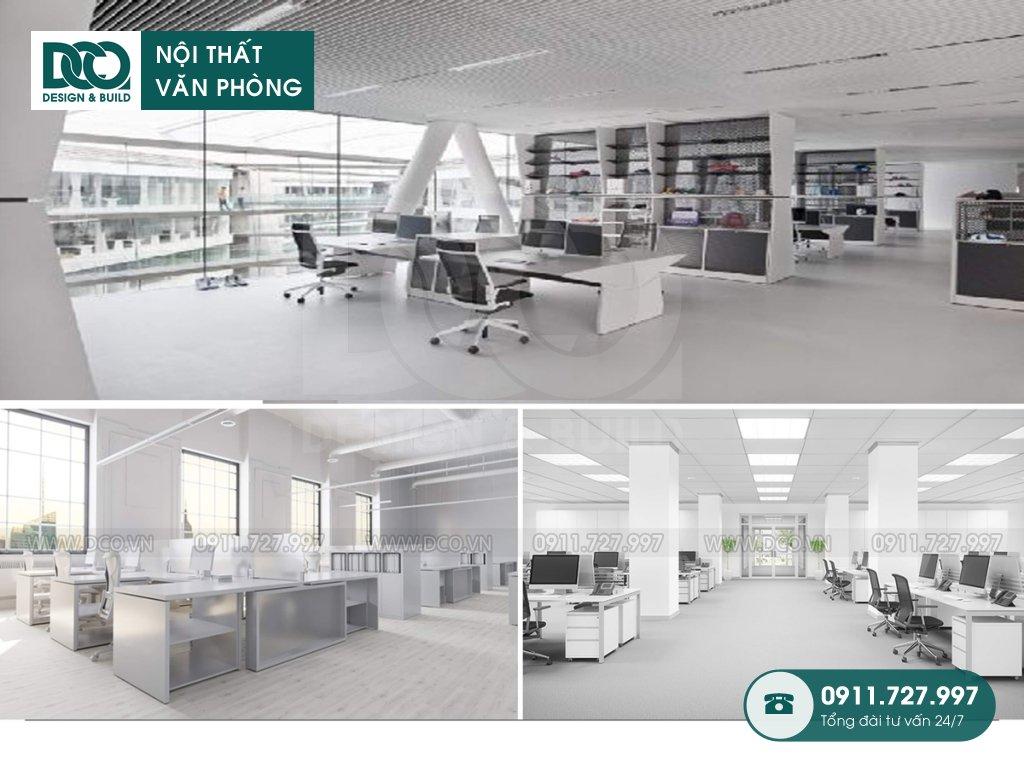 Thiết kế &Thi công nội thất văn phòng 130 chỗ Leadvisors Tower