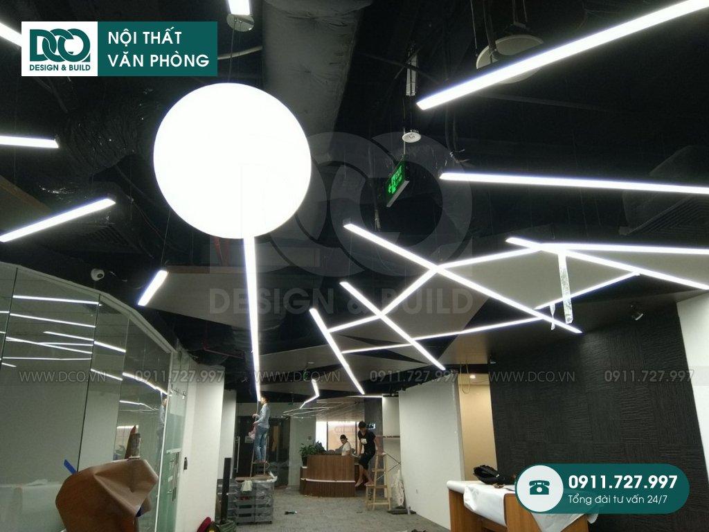 Thi công nội thất văn phòng 150 chỗ CEN X SPACE 2