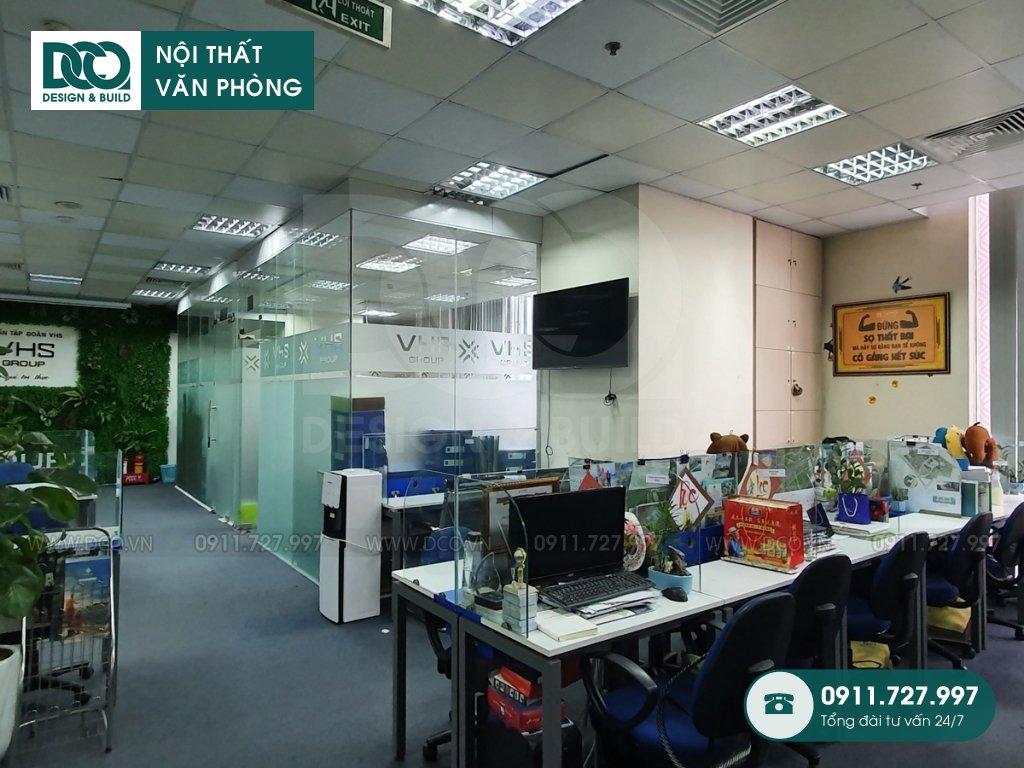 Thi công nội thất văn phòng tại phường Dương Nội