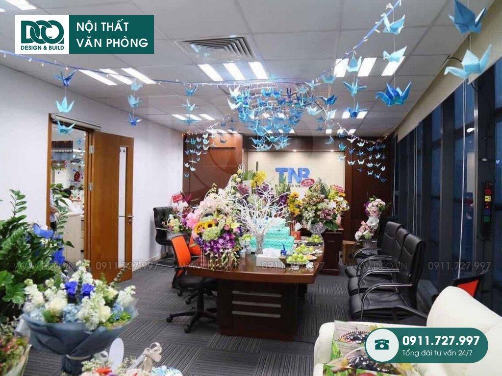 Thi công nội thất văn phòng tại phường Phú Đô