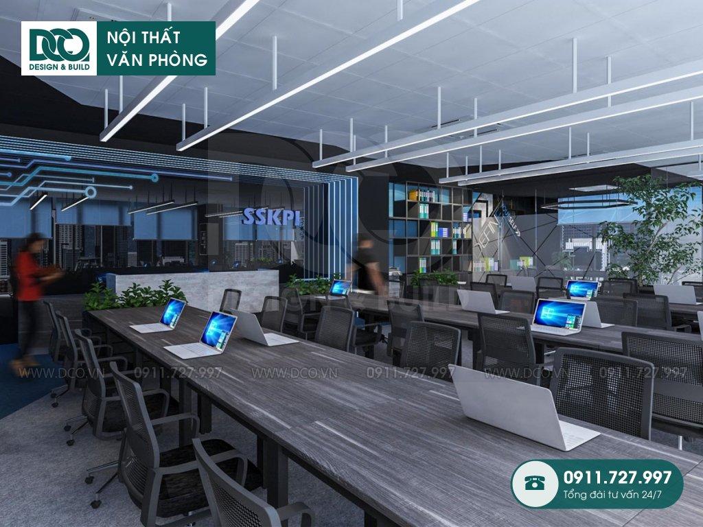 Thi công nội thất văn phòng tại phường Tăng Nhơn Phú A