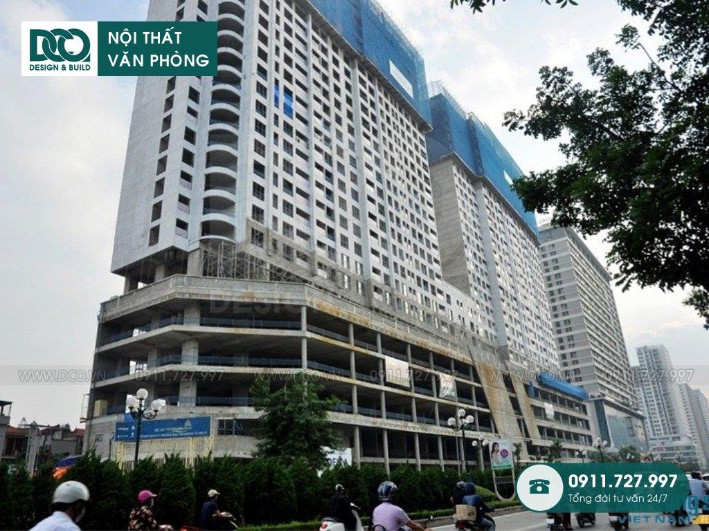 Dịch vụ thi công văn phòng Hòa Thuận Đông