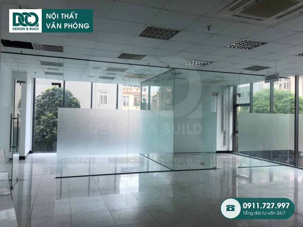 Thi công nội thất văn phòng tại phường Tân Phong