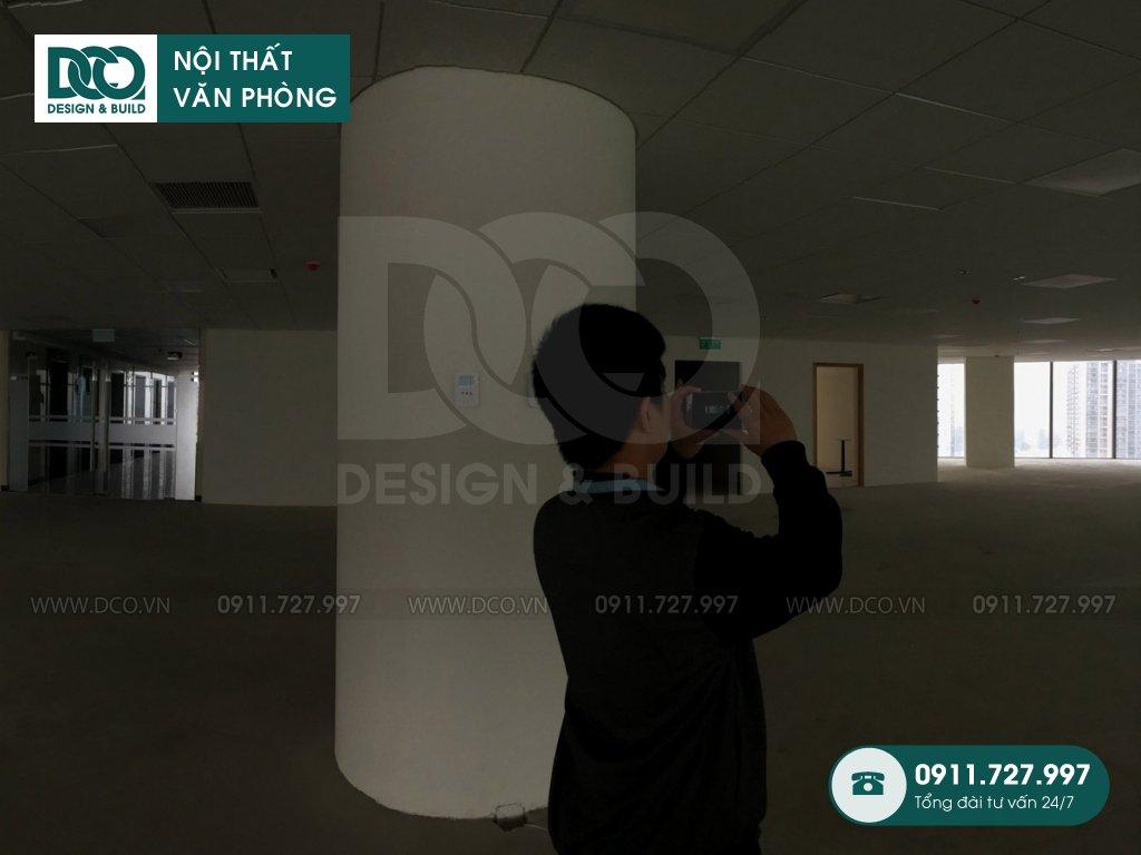 Thiết kế nội thất văn phòng VP Bank tầng 22