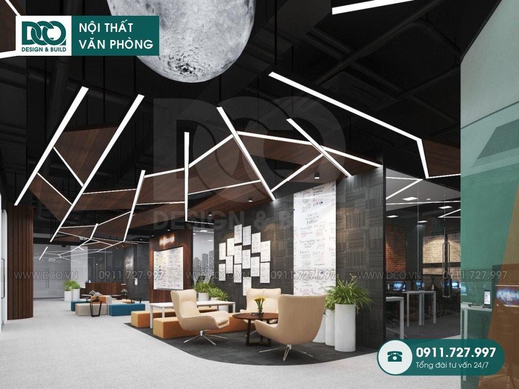 Dịch vụ thi công nội thất văn phòng tại Việt Hưng