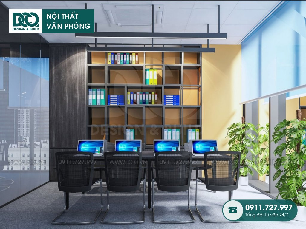 Thi công nội thất văn phòng tòa nhà Shinkawa