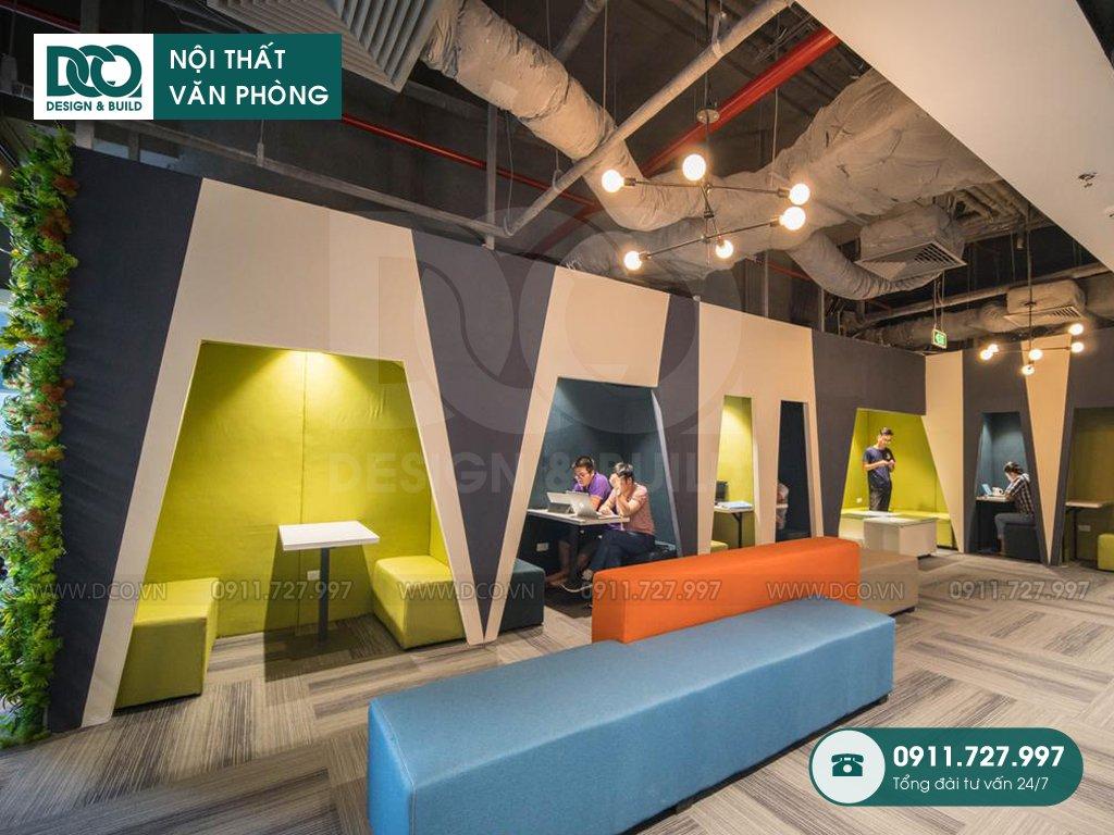 Hồ sơ mẫu thiết kế nội thất Coworking Space