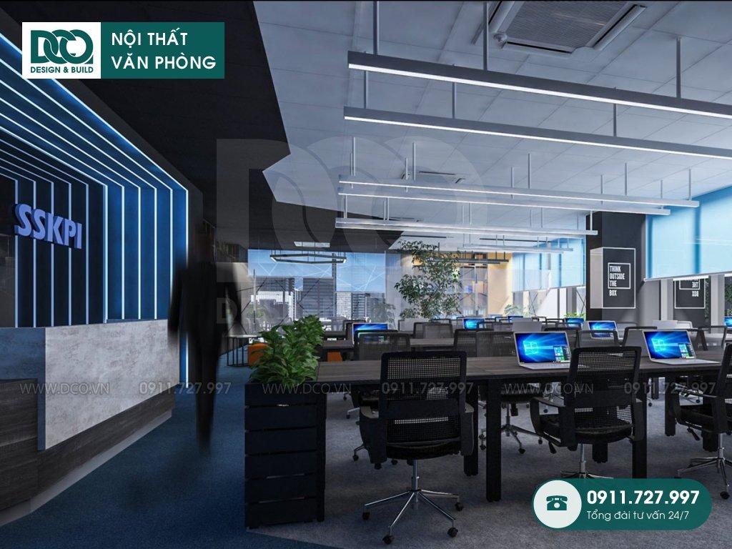 Hồ sơ bản vẽ mẫu nội thất văn phòng 138 Trần Bình