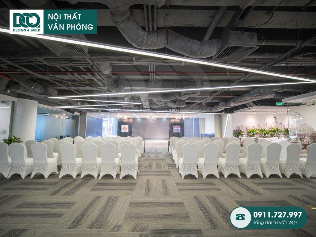 Hồ sơ dự án thiết kế nội thất văn phòng 1500m2 CENXSPACE Mỹ Đình