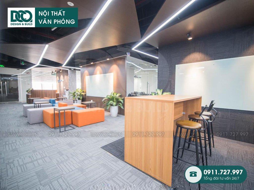 Bản vẽ mẫu nội thất văn phòng 1500m2 CENXSPACE Mỹ Đình