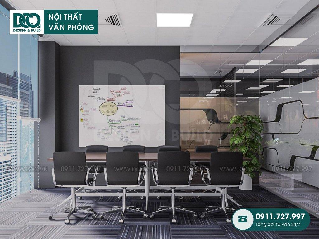 Mẫu nội thất văn phòng 190m2 tại Royal City