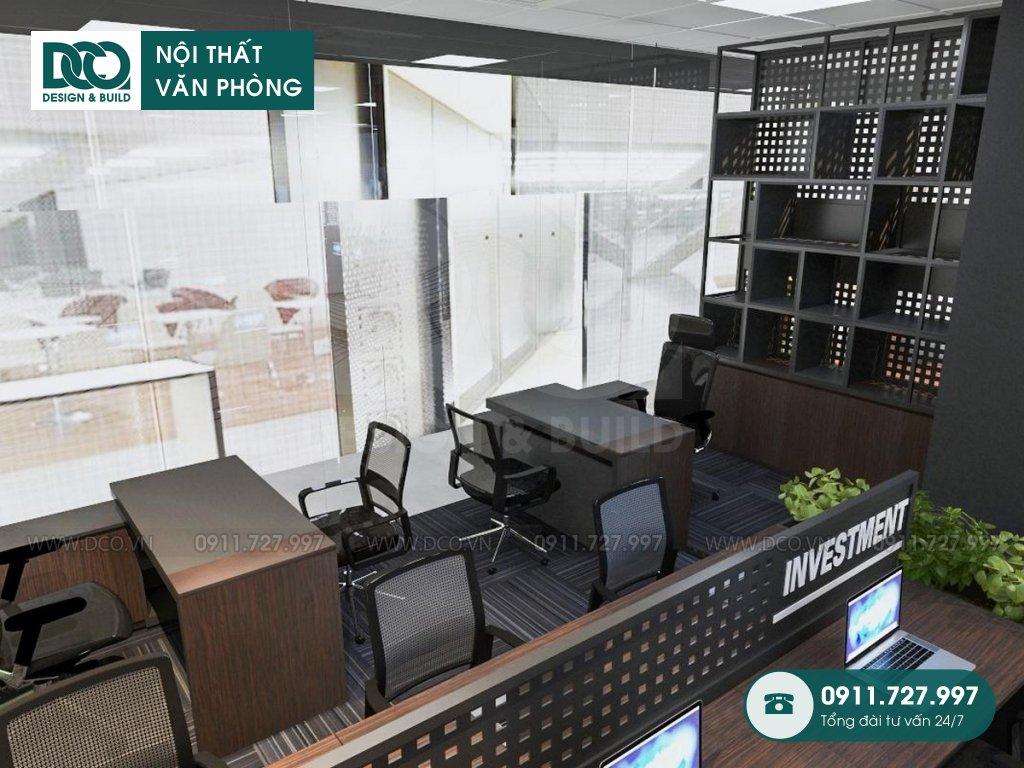 Hồ sơ dự án thiết kế nội thất văn phòng 190m2 tại Royal City