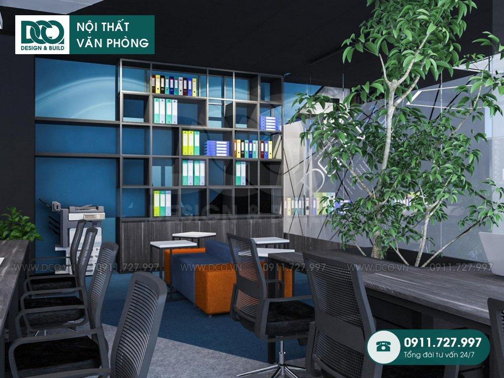 Mẫu nội thất văn phòng 191m2 tại 138 Trần Bình