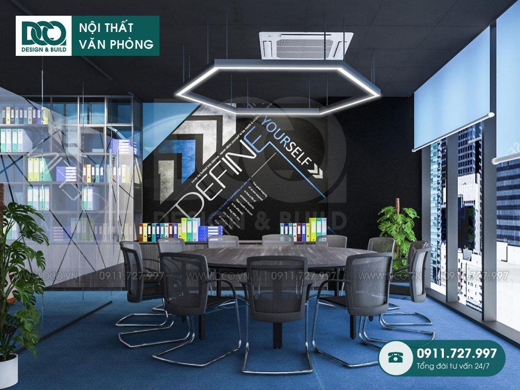 Hồ sơ bản vẽ mẫu nội thất văn phòng 191 m2 tại 138 Trần Bình