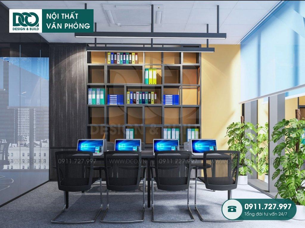 Bản vẽ mẫu nội thất văn phòng 191m2 tại 138 Trần Bình
