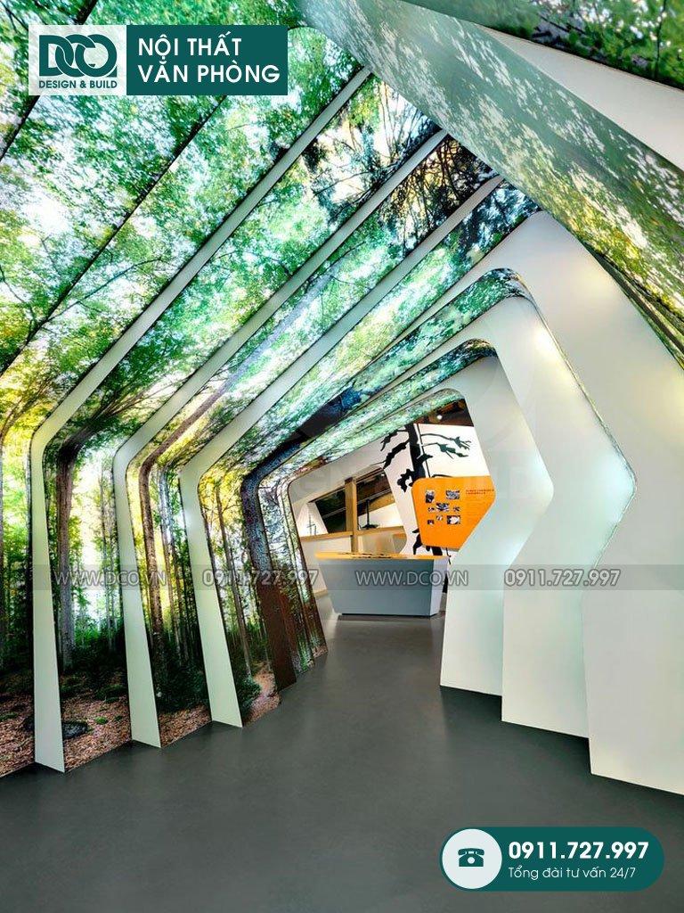 Hồ sơ mẫu nội thất văn phòng 250 chỗ Việt Đức Complex