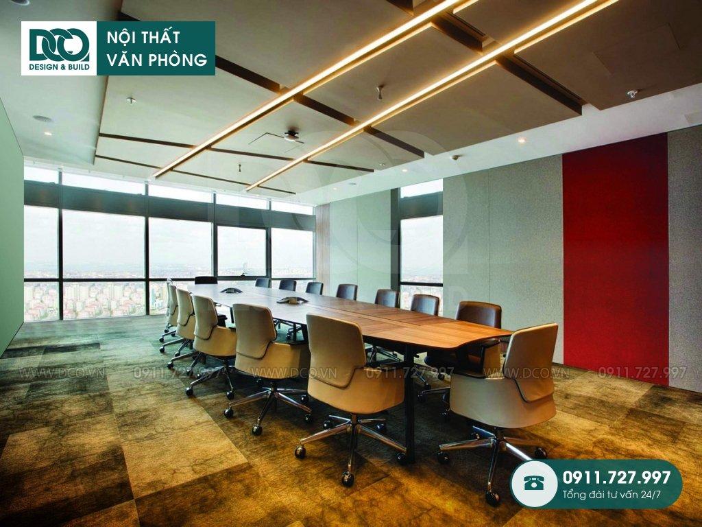 Mẫu nội thất văn phòng 280 chỗ CENXSPACE Mỹ Đình