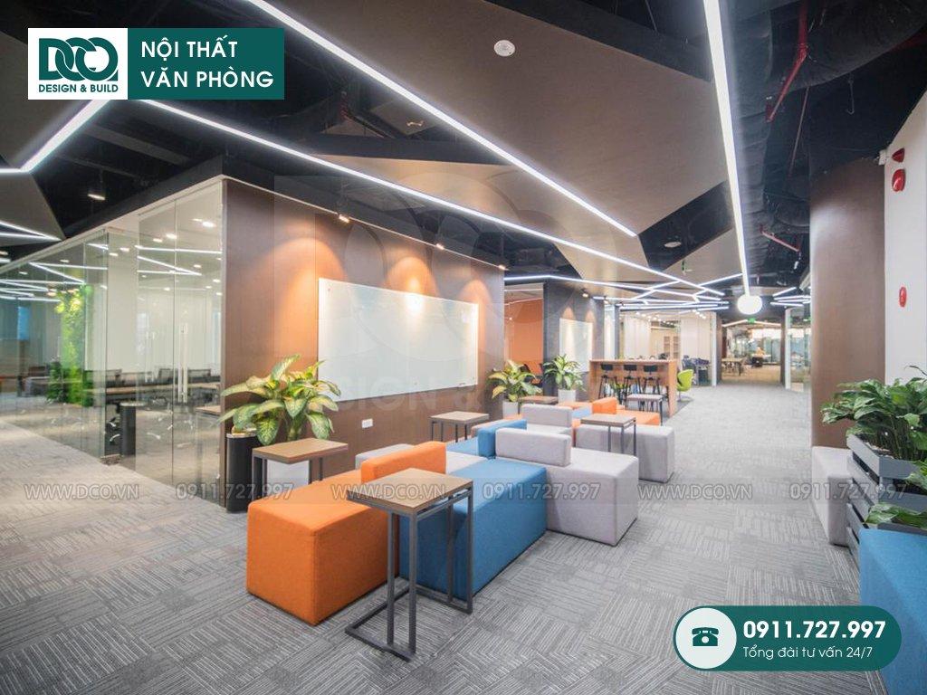 Hồ sơ dự án thiết kế nội thất văn phòng 280 chỗ CENXSPACE Mỹ Đình