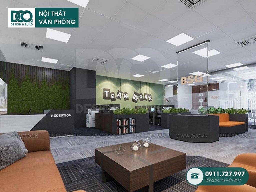 Hồ sơ dự án thiết kế nội thất văn phòng 52 chỗ tại Royal City