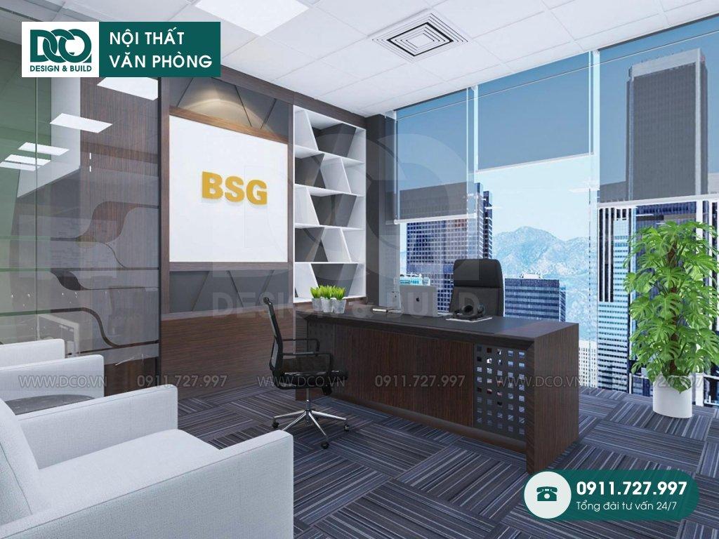 Hồ sơ bản vẽ mẫu nội thất văn phòng bất động sản Bigstar