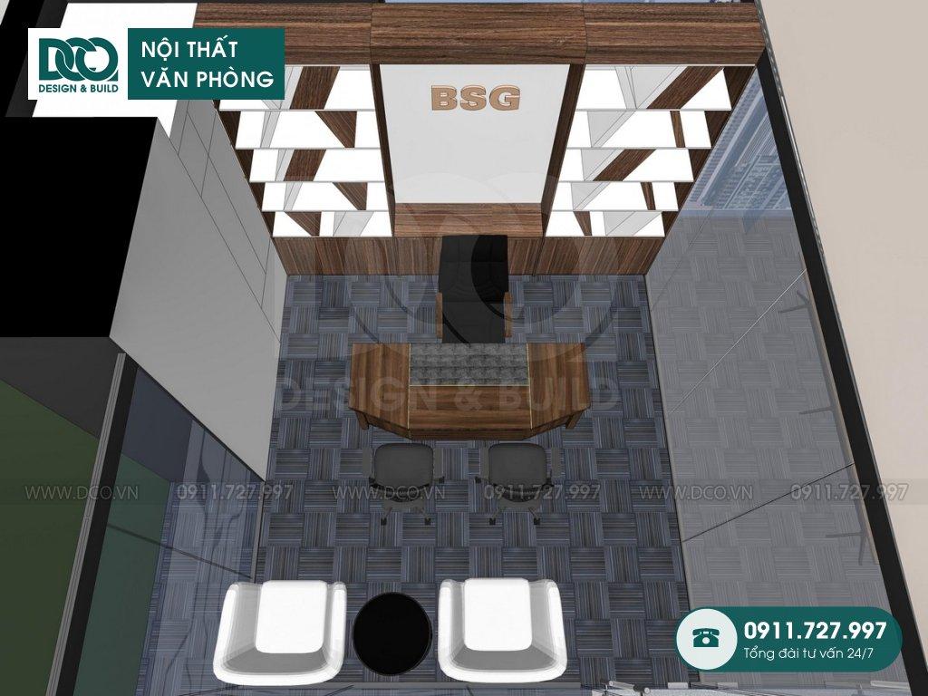 Hồ sơ mẫu nội thất văn phòng bất động sản Bigstar