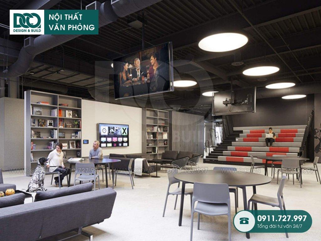 Mẫu nội thất văn phòng 490m2 CEN X SPACE 2