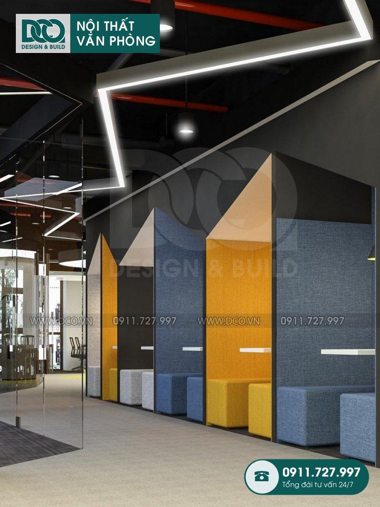 Hồ sơ dự án thiết kế nội thất văn phòng GOLDEN WEST