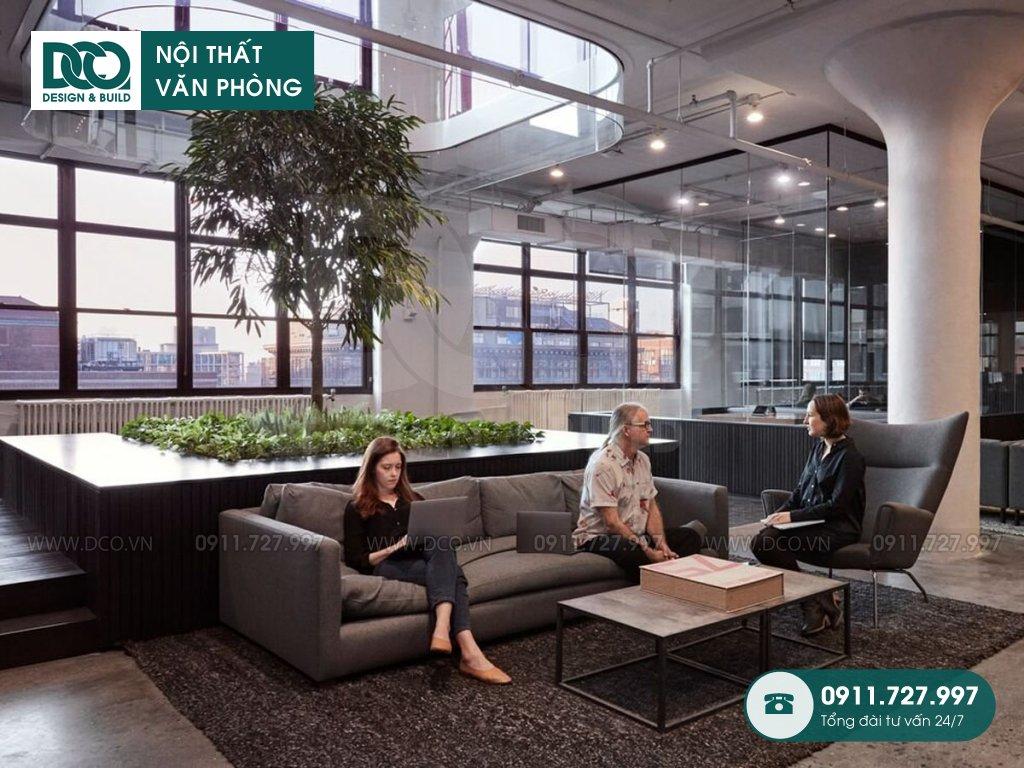 Bản vẽ mẫu nội thất văn phòng Hoàn Mỹ