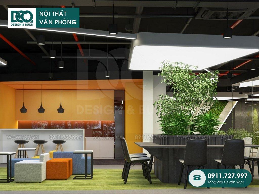 Hồ sơ dự án thiết kế nội thất văn phòng số 2 Lê Văn Thiêm