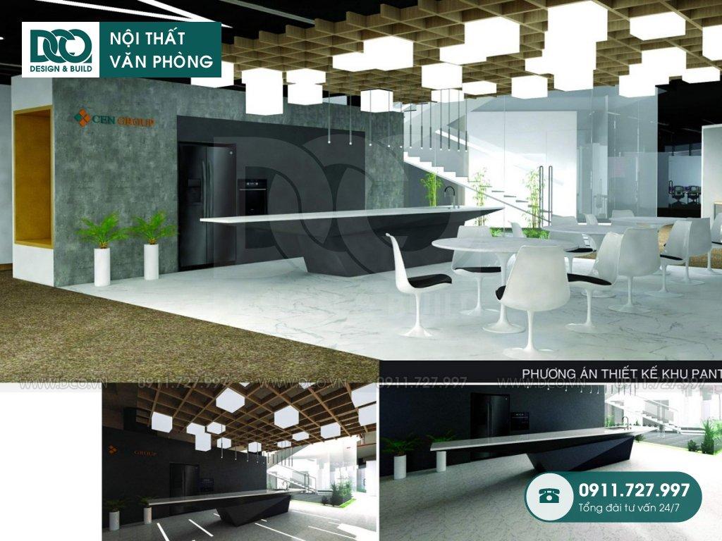 Hồ sơ mẫu nội thất văn phòng tòa nhà Dolphin Plaza Mỹ Đình