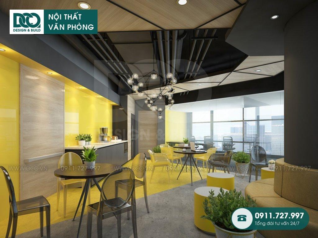 Bản vẽ mẫu nội thất văn phòng VP Bank