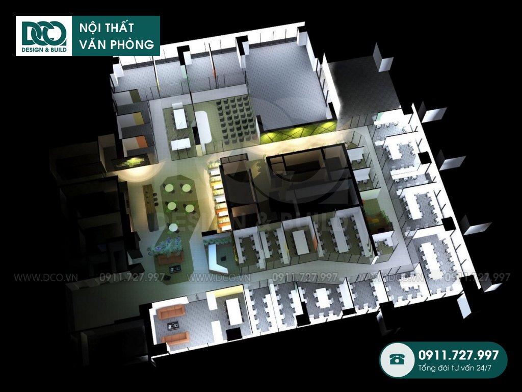 Hồ sơ mẫu nội thất văn phòng Việt Đức Complex