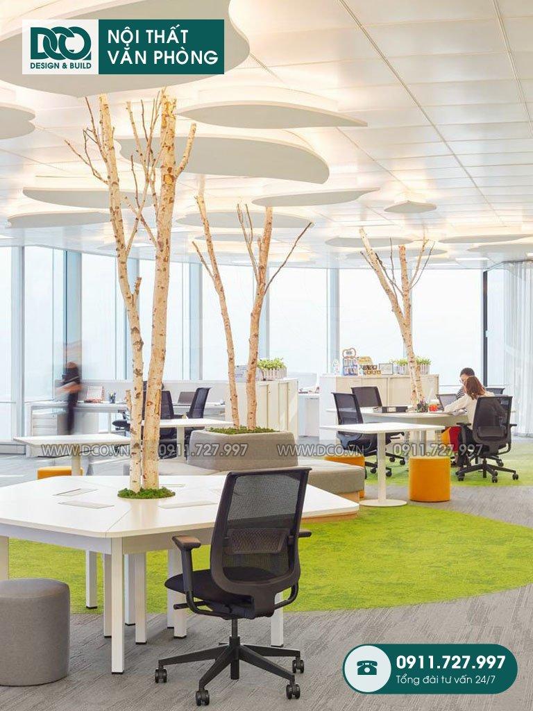 Mẫu nội thất văn phòng Việt Đức Complex