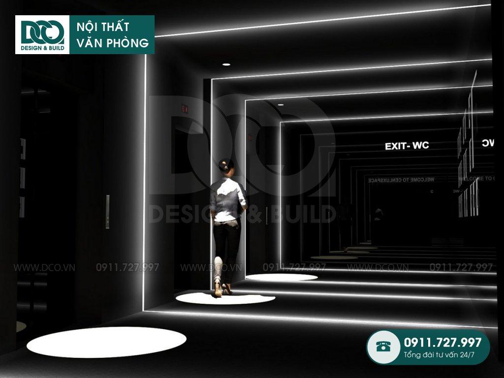 Bản vẽ thiết kế mẫu sảnh và WC 150m2