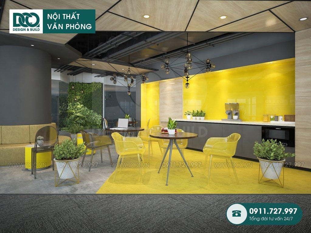 Hồ sơ dự án thiết kế nội thất văn phòng 125 chỗ 89 Láng Hạ