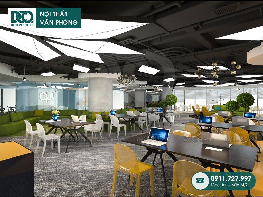 Hồ sơ dự án thiết kế nội thất văn phòng làm việc chung 89 Láng Hạ